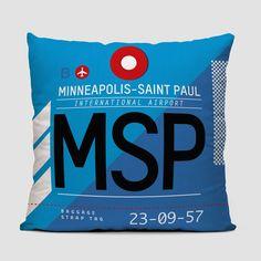 MSP - Throw Pillow