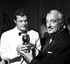 Marcello Mastroianni e Vittorio De Sica