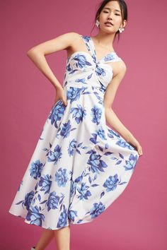 Anthropologie Yumi Kim Laysan Floral Dress $149.95