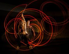 Led long exposure poi glow flow toys spinning partner poi red color copy colour slow exposure slow shutter speed rear curtain sync dynamic motion movement photography photograph photographer awesome cool inspiring interesting different wow edgy #jonthephotographer.co.uk juggling circus arts performance art dance