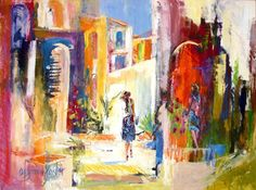 my all time favorite painter. Eugenia Foster from Fairhope AL. Love her work and proud to have  a few of her pieces.