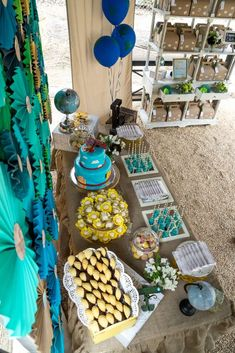 Traveling Baby Shower Party Ideas | Photo 1 of 49 | Catch My Party