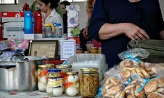Euros discarded as impoverished Greeks resort to bartering.    I love the idea of alternative currencies.