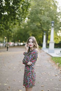 topshop dress | what olivia did