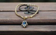 Gold String & Gold Hamsa Bracelet Price: $25 USD (Each)