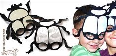 Insect masks printable