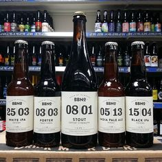 New Beers. Black IPA White IPA Porter Stout & IPA from @brewbynumbers in stock now