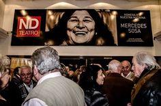 Cartelera de la película: Mercedes Sosa, la voz de Latinoamérica.