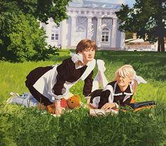Are you jealous?, 2009 Oleg Maslov Canvas/oi l130x150 cm