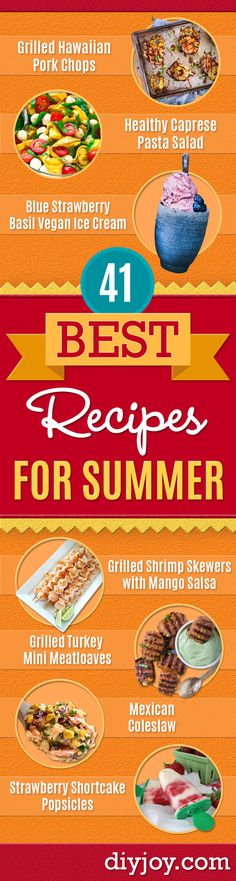 41 Best Recipes To Beat The Summer Heat