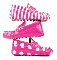 For the imaginary / future Miss Pretty (and Mom, if Tod's would make these in this pink pretty please).