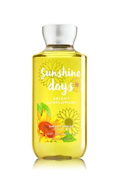 Sunshine Days - Bright Sunflowers Shower Gel - Signature Collection - Bath & Body Works