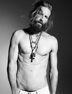 Johnny Harrington by Nicolas Valois for Elle France