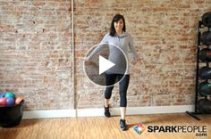 Video: 3-Minute #Stretching Routine to Prevent/Treat Shin Splints #running | via @SparkPeople