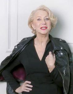 L'Oréal Paris se devait de surfer sur la vague des égéries senior.  http://www.elle.fr/Beaute/News-beaute/Beaute-des-stars/Pret-a-liker-Helen-Mirren-se-fait-cougar-pour-L-Oreal-Paris-2886782