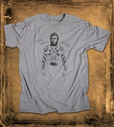 Rugged Henry David Thoreau T-Shirt | Show off your transcendental inclinations with this t-shirt in... | T-Shirts