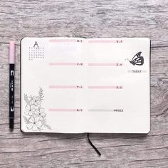 Looking for really cute and fun pink bullet journal ideas? Well we have got a baziollion for you to check out! Its one of our favorite colors Bullet Journal Week, Bullet Journal Cover Page, Bullet Journal Tracker, Bullet Journal How To Start A, Bullet Journal Junkies, Bullet Journal Notebook, Bullet Journal Ideas Pages, Journal Covers, Bullet Journal Inspiration