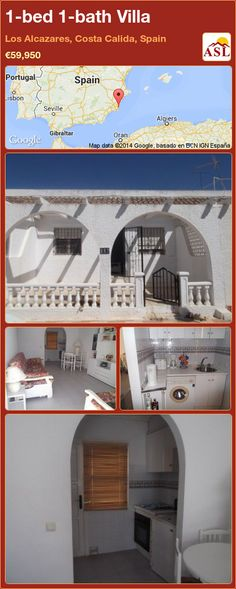 1-bed 1-bath Villa in Los Alcazares, Costa Calida, Spain ►€59,950 #PropertyForSaleInSpain