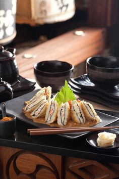 Delicious sushi sandwich.  Recently tried this and I have craved it ever since.  AWESOME.