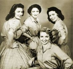 The Carter Family - June, Anita, Helen and Mother Maybelle (center)