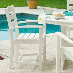 POLYWOOD Outdoor Dining Chairs on Hayneedle - Shop Outdoor Dining Chairs by POLYWOOD
