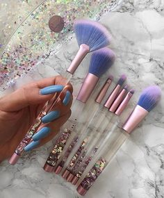 Lime Crime makeup brushes