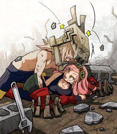Boku no Hero Academia || Higari Maijima (Power Loader), Hatsume Mei.
