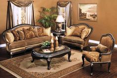 1000 Images About Antique Style Formal Sofa Sets On