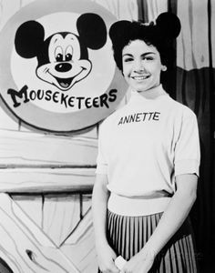 """Annette Funicello one of the first Walt Disney Mouseketeers. As a teenager, she transitioned to a successful career as a singer with the pop singles """"O Dio Mio"""", """"First Name Initial"""", """"Tall Paul"""" and """"Pineapple Princess"""", as well as establishing herself as a film actress, popularizing the successful """"Beach Party"""" genre alongside co-star Frankie Avalon during the mid-1960s."""