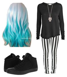"""""""Untitled #25"""" by riasoccer on Polyvore featuring American Vintage, Converse and Alexander McQueen"""