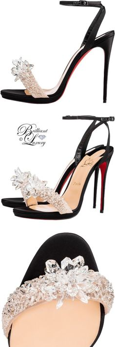 Brilliant Luxury ♦ Christian Louboutin 'Crystal Queen'