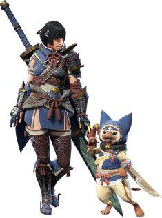Monster Hunter Cat, Monster Hunter Cosplay, Monster Hunter Series, Final Fantasy Xiv, Fantasy Armor, Medieval Fantasy, Character Poses, Character Design, Female Monster