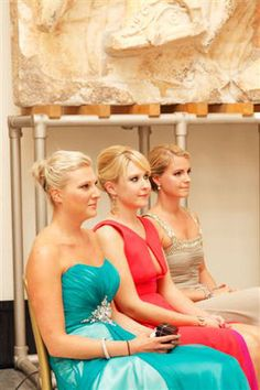 Gute Freundinnen als Brautjungfern Prom Dresses, Formal Dresses, Fashion, Girlfriends, Bridesmaids, Guys, Wedding, Kleding, Dresses For Formal