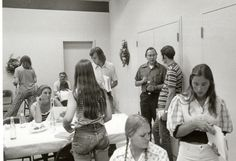 Can you spot a future professor in this photo? Even amid all the 70's fashion statements, we can see him! #throwbackthursday #denverseminary