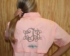 "43.99 HOOK & TACKLE ""Gulfstream"" Womens Fishing Shirt! Includes monogram"