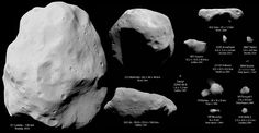 Visited asteroids