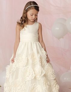 Flower Girl Dress:  I fell in love with this dress from day one!  This is her dress!
