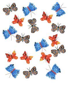 Mixed Butterflies by Sarah Millin