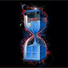 This Doctor Who t-shirt shows the Tardis in an hour glass and it will be all new on the other side. This Tardis t-shirt is available for men and women. Doctor Who Art, Doctor Who Tardis, Fandom Fashion, Geek Fashion, Doctor Who T Shirts, Time T, Space Time, Don't Blink, Before Us