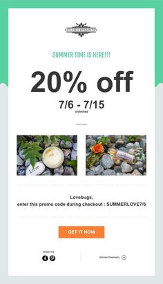 SUMMER TIME IS HERE!!!  🥑🍒🍋 💜🤣😙🤓 Lovebugs,  We'd like to share some of this goodness with you 💜💜💜💜 Food for the body, hair, and soul.  It's official, summer savings time! NOW between 7/6 and 7/16 for 20% off your purchase!!!!   PROMO CODE: SUMMERLOVE7/6  💜💜💜  www.kitchenkhemistrtysbb.com/shop  food for the skin, hair, and soul  #kitchenkhemistry  #kitchenkhemistrysbb  #breatheeasy #breathefreely #breatheoften Breathe Easy, Get It Now, 20 Off, Love Bugs, Summer Time, Essentials, Coding, Shop, Hair