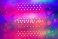 Fundo artístico bonito com luzes de bokeh — Fotografia Stock