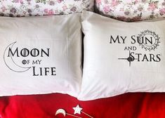 Hold the door!  I need these Game of Thrones pillows in my life!  If only it came with Khal Drogo....