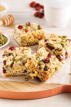 Krispie Treats, Rice Krispies, Granola Barre, Desserts With Biscuits, Muffins, Food And Drink, Gluten, Nutrition, Snacks