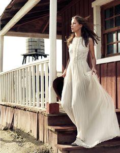 Boho Romantic Long Dress