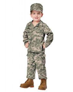 Soldier Toddler Costume | California Costumes