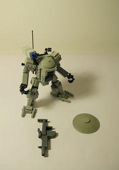 Hoplite, anti tank medium mecha | by Wiseman_Lego