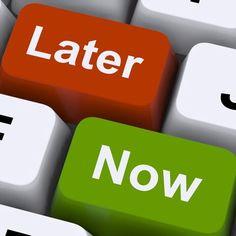 Błędy w organizacji czasu – odwlekanie