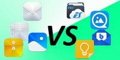 Huawei Apps im Vergleich – Teil 1 – Filemanager #Apps #Vergleich #ES_Datei_Explorer