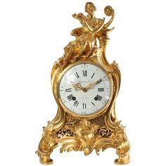 A Good French Louis XV Ormolu Mantel Clock | Beauvarlet, Circa 1750