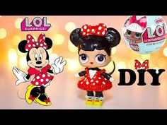 In this video I'm making and painting Disney Minnie Mouse Custom LOL Surprise Doll OOAK. I hope you'll like my DIY Repaint Toy Tutorial. I'm using LOL Doll L. Doll Crafts, Diy Doll, Doll Repaint Tutorial, Unicorn Surprise, Minnie Mouse Doll, Biscuit, Lps Accessories, Baby Girl Toys, Popular Toys